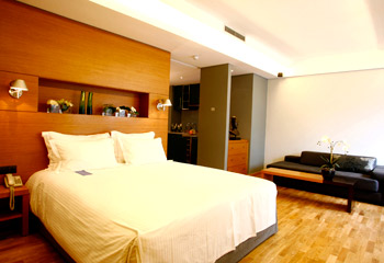 Photo of room of hotel JM Suites