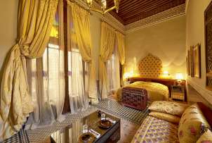 Photo of room of hotel Riad Fes